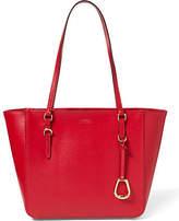 Ralph Lauren Saffiano Leather Shopper Tote