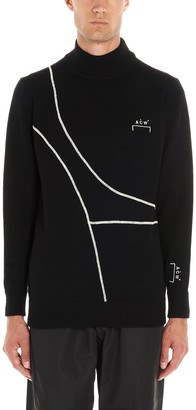 A-Cold-Wall* Turtleneck Logo Knitted Jumper