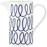 Kate Spade Charlotte Street Pitcher - White/Blue