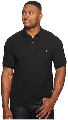Polo Ralph Lauren Big & Tall Big and Tall Classic Fit Mesh Polo (White) Men's Short Sleeve Knit