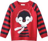 Joe Fresh Baby Girls' Graphic Long Sleeve Sweater, Carmine Red (Size 12-18)