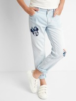 Gap GapKids | Disney Minnie Mouse stretch girlfriend jeans