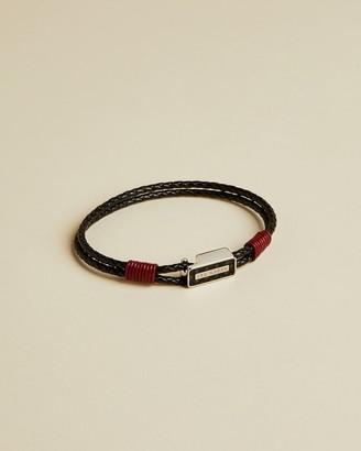 Ted Baker LAMPS Carbon fibre bracelet