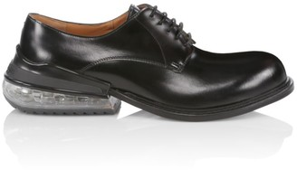 Maison Margiela AirBag Heel Lace-Up Leather Shoes