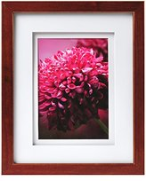Carrs of Sheffield Carr Gallery Frame with Air Float Mat, 14 by 18-Inch Matted to 11 by 14-Inch, Espresso
