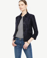 Ann Taylor Petite Lace Overlay Jacket