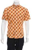 Gitman Brothers Digital Print Button-Up Shirt
