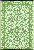 Wildon Home Lightweight Reversible Gala Herbal Garden/Ivory Indoor/Outdoor Area Rug Rug Size: 4' x 6'