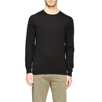 Paolo Pecora Sweater Crewneck Sweater In Silk And Cotton