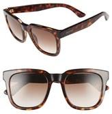 Gucci Men's '1133S' 52Mm Retro Sunglasses - Dark Havana