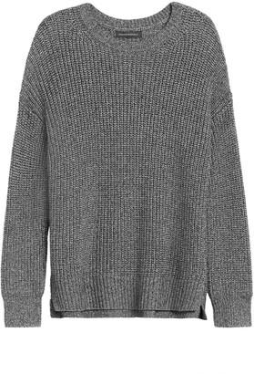 Banana Republic JAPAN EXCLUSIVE Oversized Metallic Sweater Tunic