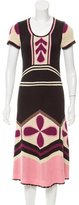 Temperley London Silk Colorblock Dress