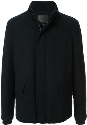 Emporio Armani Padded Fitted Shirt Jacket