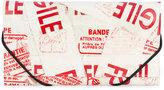 MM6 MAISON MARGIELA printed faux leather wallet