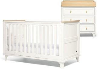 Mamas and Papas Trista Set (2 Piece Cotbed & Dresser)