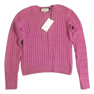 Gucci Pink Wool Knitwear