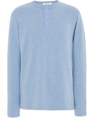 Frame Cotton-Jersey Henley T-Shirt