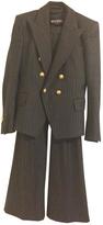 Balmain Anthracite Wool Jacket