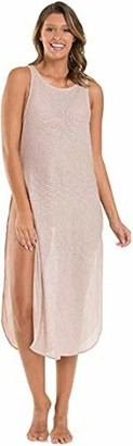 Jets Women's Mirage Tank Maxi Dress Swimwear Cover Up
