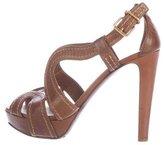 Miu Miu Platform Caged Sandals
