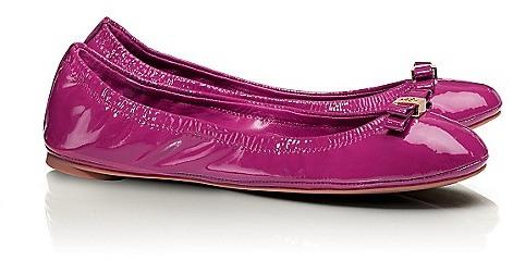 Tory Burch Patent Leather Eddie Ballet Flat