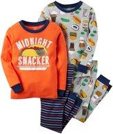 Carter's 4 Piece PJ Set (Toddler/Kid) - Print - 5