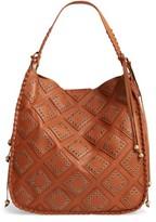 Shiraleah Skylar Faux Leather Hobo - Brown