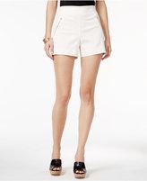 Thalia Sodi Zipper-Detail Shorts, Only at Macy's