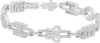 """Judith Ripka Sterling Diamonique Hope 6-3/4"""" Tennis Bracelet"""