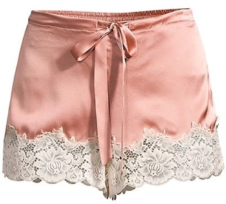 Ginia Lace-Trimmed Shorts