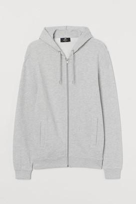 H&M Regular Fit Hooded Jacket - Gray