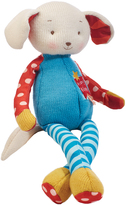 Bunnies by the Bay Red & Blue Buddy Knitbit Plush Toy
