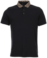Aquascutum London Nhan Short Sleeve Polo Shirt TGEV16WAEMM-NVY Navy