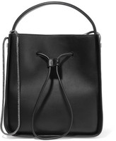 3.1 Phillip Lim Soleil Small Textured-leather Bucket Bag - Black