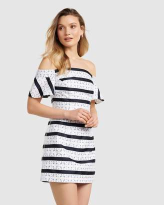 Forever New Madeline Off The Shoulder Mini Dress