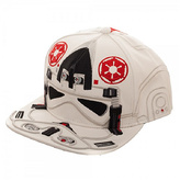 Bioworld White & Red AT-AT Driver Wool-Blend Baseball Cap