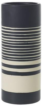 Hofland Sinclair Striped Stoneware Vase
