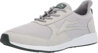 Lakai Footwear EVO Light Grey MESHSize 5 Tennis Shoe