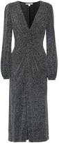 Jonathan Simkhai Metallic midi dress