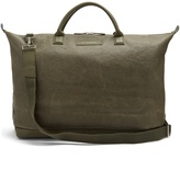 WANT Les Essentiels Hartsfield waxed-canvas holdall