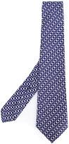 Kiton chain pattern tie