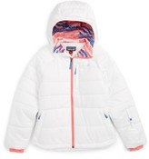 Patagonia Girl's Aspen Grove Water Resistant Hooded Jacket