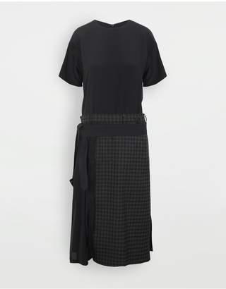 Maison Margiela Reworked Check Dress