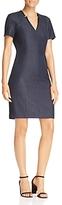 T Tahari Pixie Notch-Collar Dress