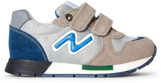 Naturino Toddler/Kids Boys) Grey Nylon Low-Top Sneakers