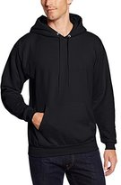 Hanes Men's Pullover EcoSmart Fleece Hoodie, Black
