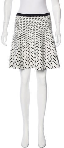 Ohne Titel Patterned A-Line Skirt