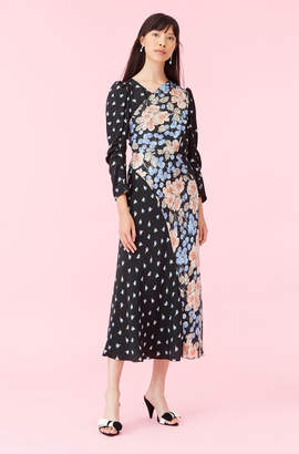 Rebecca Taylor Print Mix Dress