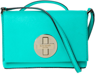 Kate Spade Green Leather Sally Crossbody Bag