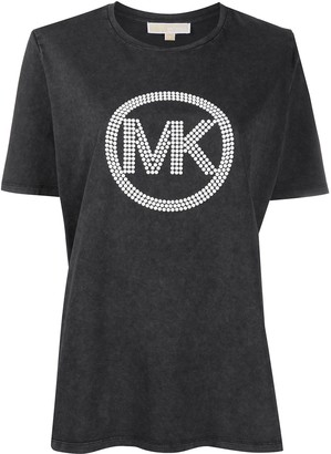 MICHAEL Michael Kors embellished logo crew neck T-Shirt